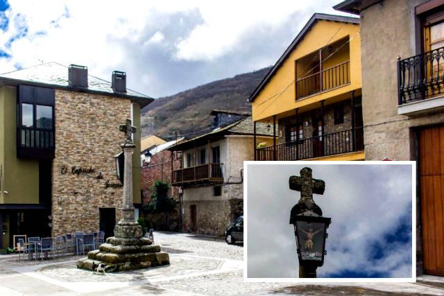 Plaza de Santísimo Cristo y crucero - Destino Castilla y León