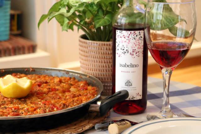 Maridaje del rosado Isabelino - Destino Castilla y León