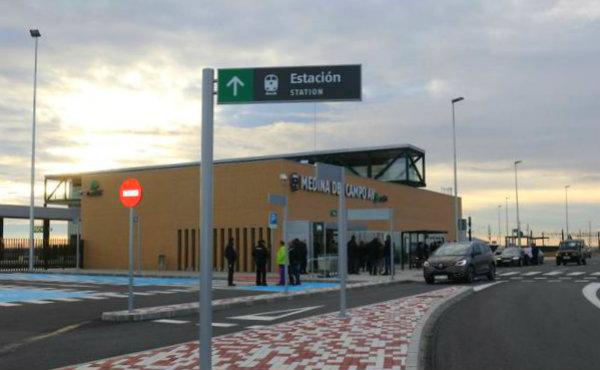 Estación del AVE de Medina del Campo - Imagen de El Norte de Castilla