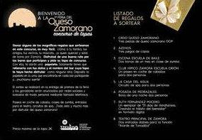 Información del folleto de la Feria del Queso Zamorano - Destino Castilla y León