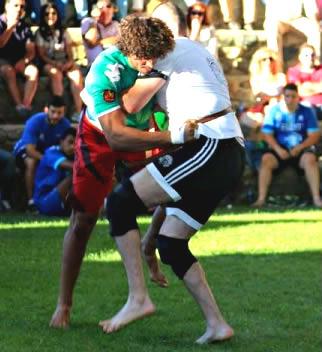 Combate de lucha leonesa - Imagen de la Federación de Lucha leonesa
