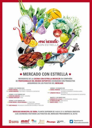 Cartel de la edición 2019 de Mercado con Estrella