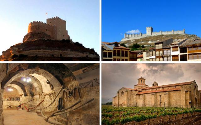 Parajes de la DO. Ribera del Duero - Destino Castilla y León