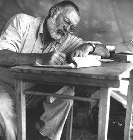 Ernest Hemingway en Ávila - Imagen de PortalAvila