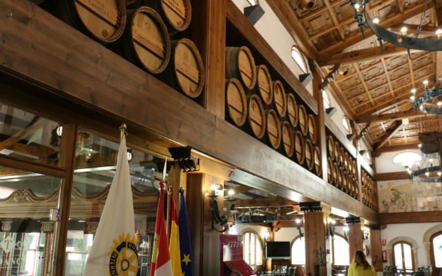 Interior del Hotel 4 estrellas del Área Tudanca - Destino Castilla y León