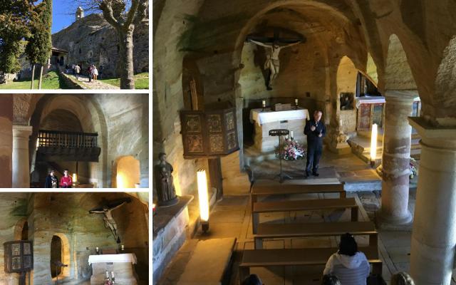Iglesia rupestre de los Santos Justo y Pastor de Olleros de Pisuerga - Destino Castilla y León
