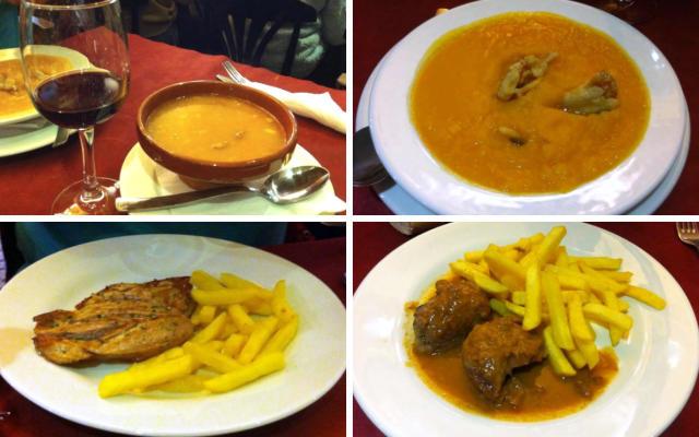Menús del día en el Restaurante el Ave - Destino Castilla y León