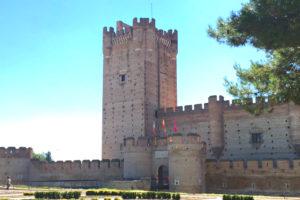 Castillo de la Mota en Medina del Campo - Destino Castilla y León