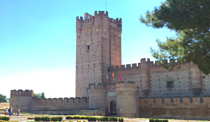 Castillo de la Mota en Medina del Campo en V Centenario de la Quema de Medina