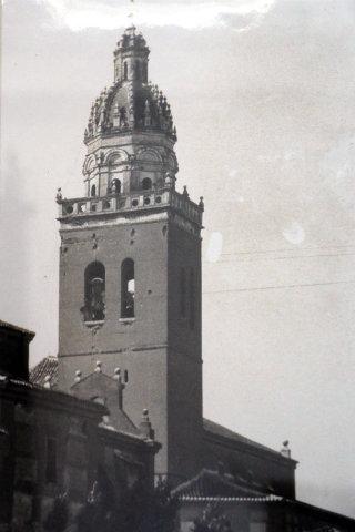 Aspecto de la torre de la Iglesia de Santa María de la Asunción de La Seca - Destino Castilla y León