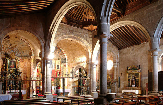 Interior de la Ermita de San Segundo de Ávila - Image de JCyL