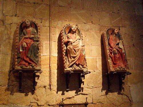 Santos hermanos mártires Vicente, Sabina y Cristeta