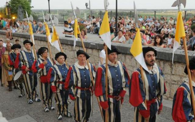 Recreación en Tordesillas - Imagen de El Norte de Castilla