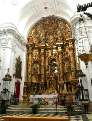 Retablo mayor de la Iglesia de la Asunción de Rueda - Destino Castilla y León