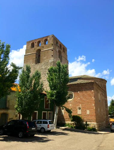 Imponente campanario mudéjar de la Iglesia de San Andrés - Destino Castilla y León
