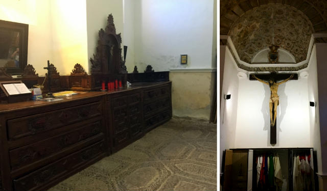 Sacristía de Santa María de Olmedo - Destino Castilla y León