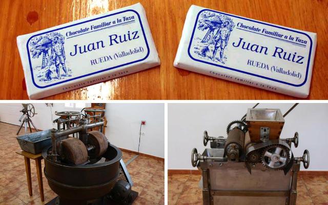 Fábrica de chocolates artesanales Juan Ruiz - Destino Castilla y León