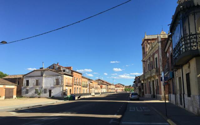 Calle principal de Rueda - Destino Castilla y León