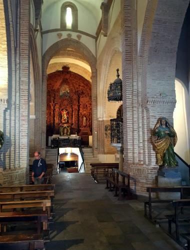 Interior de la Iglesia de San Miguel de Olmedo - Destino Castilla y León
