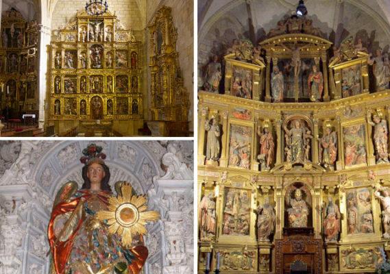 Retablos principales de la Concatedral de Soria - Destino Castilla y León