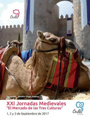 Cartel de las Jornadas Medievales de Ávila 2017 - Imagen del Ayto. de Ávila