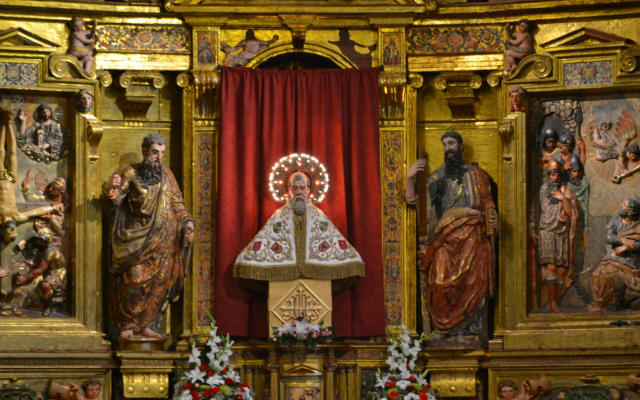 Busto relicario de San Saturio - Imagen de SoriaNoticias