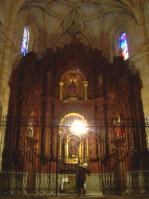 Capilla y retablo de Nuestra Señora del Azogue - Imagen de Wikipedia