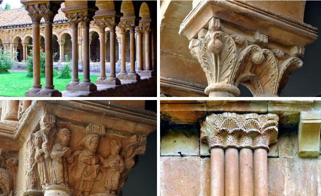 Claustro de origen románico de la Concatedral de Soria - Destino Castilla y León