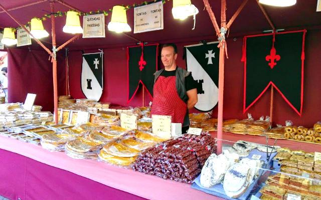 Puesto de productos gastronómicos artesanales - Destino Castilla y León