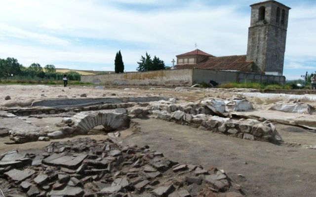 Yacimiento arqueológico de la villa romana de San Pedro del Arroyo - Imagen de ÁvilaRed