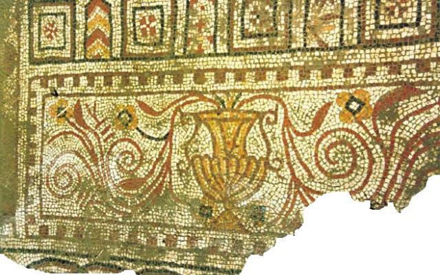 Mosaicos de la villa romana de Pardinas - Imagen de EPardinas