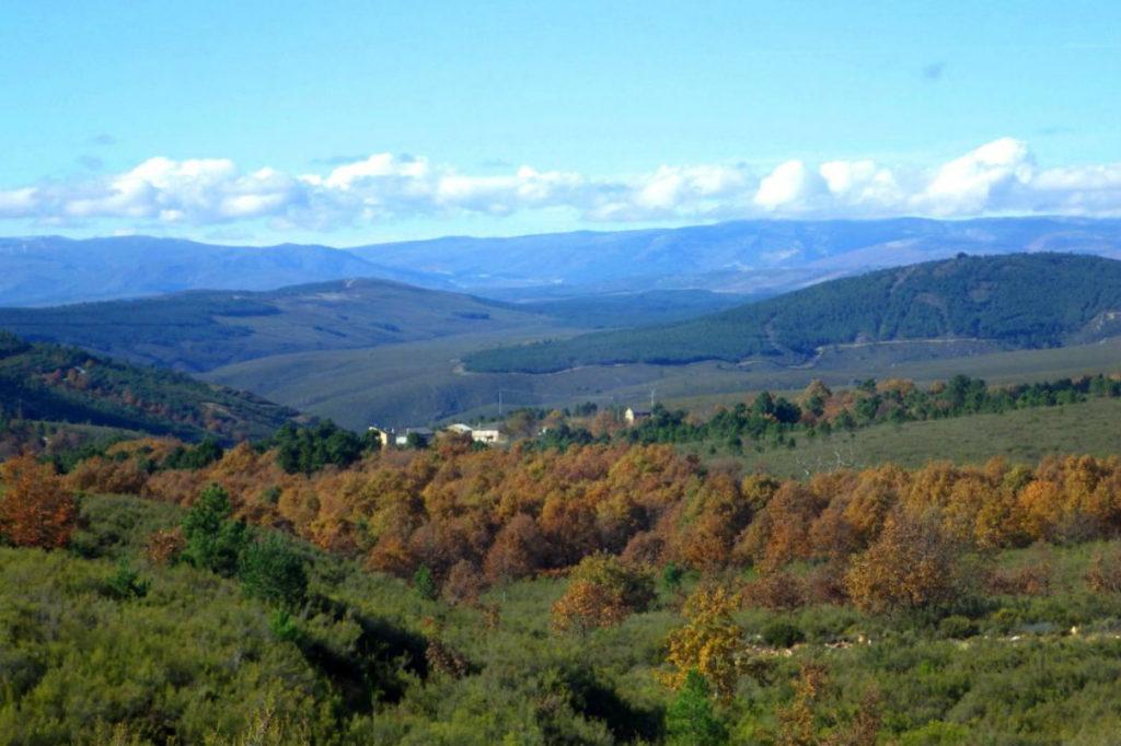 paisajes de la comarca de Aliste en Zamora vía naturaliste