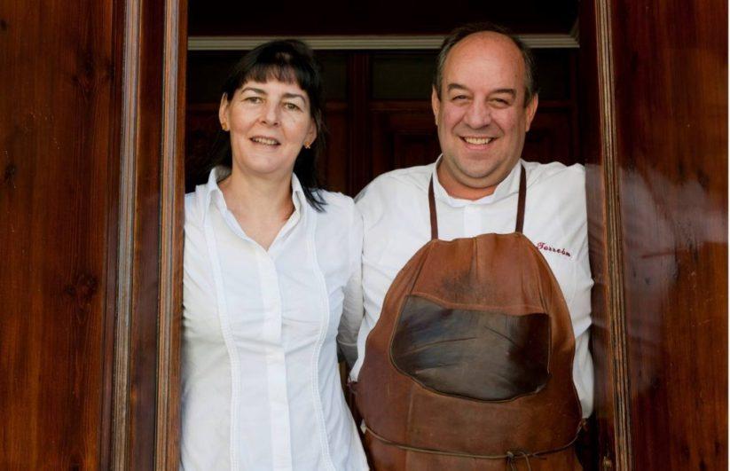 Mª Ángeles y Jeremías, gerentes del Restaurante el Torreón de Tordesillas