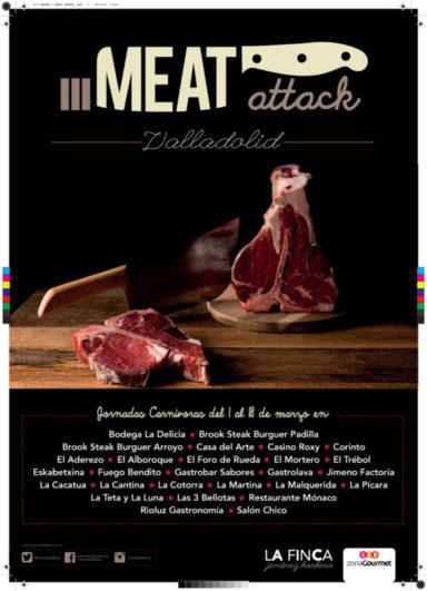 Las jornadas carnívoras Meat Attack vuelven a Valladolid