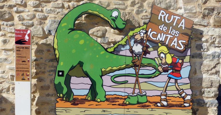 Ruta de los dinosaurios en Soria