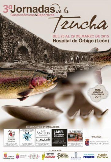 Las Jornadas Gastronómicas de la Trucha en Hospital de Órbigo