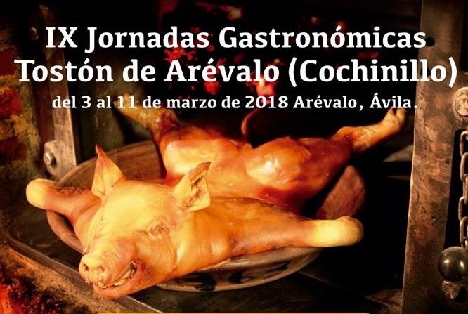 jornadas gastronómicas Tostón de Arévalo