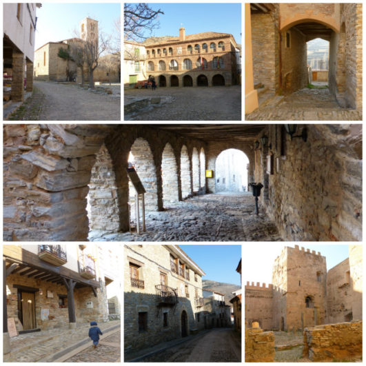 foto collage de Yanguas (Soria)