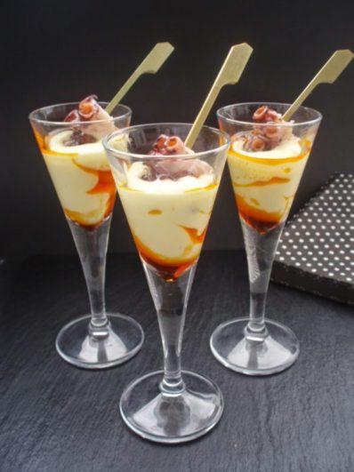 Chupito de pulpo y crema de patata Fuente: www.pasenydegusten.com