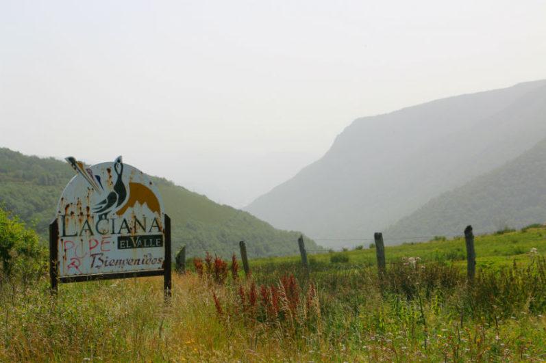 El Valle de Laciana_Cartel de Bienvenida