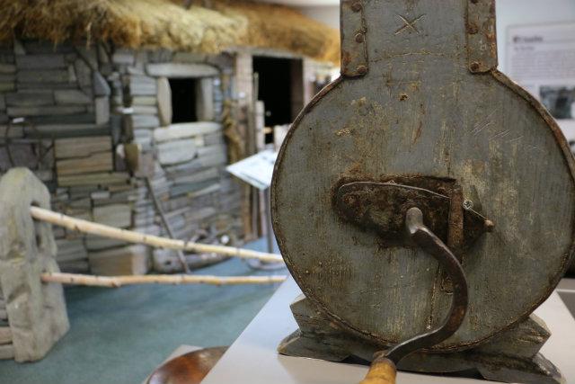 Sala dedicada a las costumbres del Valle de Laciana
