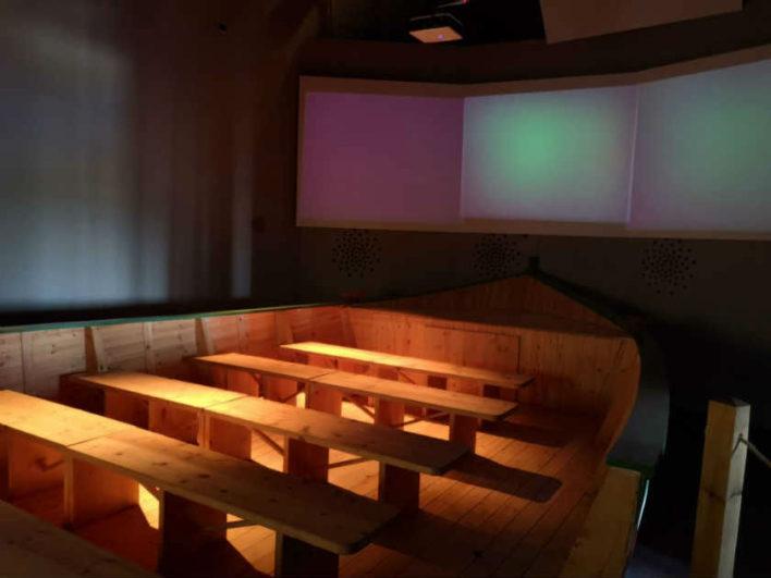Espacio multimedia en la Casa de la Reserva de Castronuño