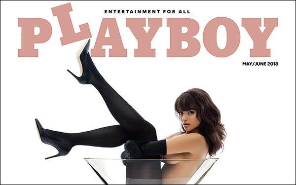 Portada Playboy 2018 Fuente de la imagen MediaPost