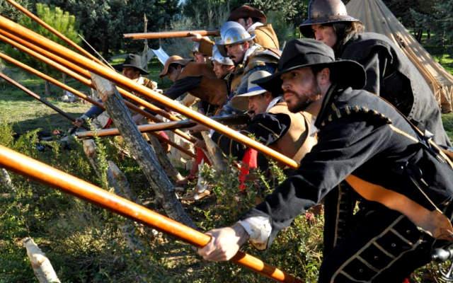 Recreación de los Tércios de Flandes - Imagen cortesía de Navarra Resiste