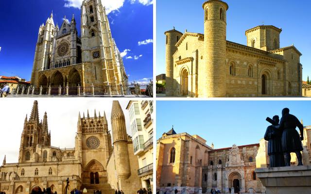Algunos de los monumentos por los que pasa el Camino de Santiago Francés por Castilla y León - Destino Castilla y León