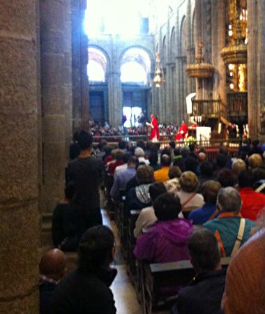Misa de peregrinos en Santiago de Compostela - Destino Castilla y León
