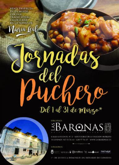 Jornadas del Puchero en el Restaurante Las Baronas