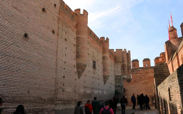 Recinto interior de la defensa artillera - Destino Castilla y León