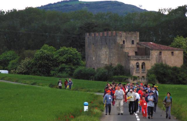 Camino de Santiago de Bayona a su paso por Miranda de Ebro - Imagen del Ayto