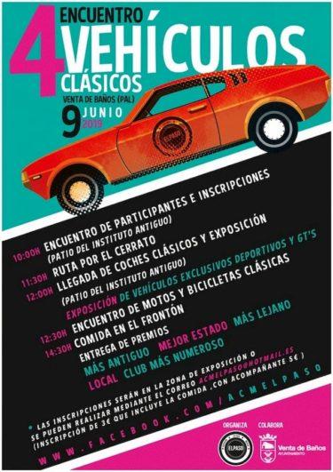 concentración vehículos clásicos en Venta de Baños_Palencia